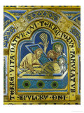Entombment of Christ, Enamel, Verdun Altar, Begun 1181 Giclee Print by Nicholas of Verdun