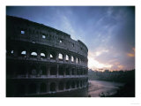 The Colosseum or Flavian Ampitheatre in Rome, Built by the Emperors Vespasian and Titus Giclee Print