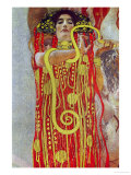 Medicine, Part of the Ceiling Fresco for the Vienna University, 1900/07 Giclée-Druck von Gustav Klimt