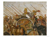 The Alexander Battle, Darius, Probably Done after a Painting by Philoxeilos of Entrea (4th BCE) Giclee Print