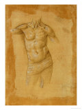 Bust of a Half-Naked Man, Without Head Giclee Print by Lorenzo di Credi
