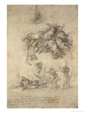 The Fall of Phaeton, 1533 Giclee Print by  Michelangelo Buonarroti