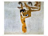 Gustav Klimt - Beethovenfrieze, Allegory of Poetry Digitálně vytištěná reprodukce