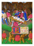 Les Heures D'Etienne Chavalier: Martyrdom of Saint Apollonia Giclee Print by Jean Fouquet