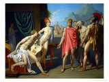 Achilles Greets the Ambassadors of Agamemnon, 1800 Giclee Print by Jean-Auguste-Dominique Ingres