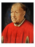 Cardinal Niccolo Albergati (1375-1443), Papal Envoy in the Spanish Netherlands Giclee Print by Jan van Eyck