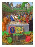 Les Heures D'Etienne Chavalier: Entombment Giclee Print by Jean Fouquet