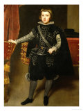 The Infante Baltasar Carlos (1629-1646) Giclee Print by Diego Velázquez