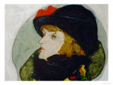 Portrait of Ida Roessler, 1912 Giclee-vedos tekijn Egon Schiele