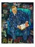 Portrait Dr. Hugo Koller, 1919 Giclee Print by Egon Schiele
