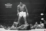 Muhammad Ali gegen Sonny Liston Poster