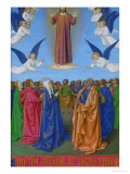 Les Heures D'Etienne Chavalier: Ascension Giclee Print by Jean Fouquet