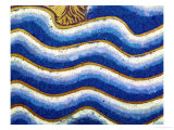 Waves of the Flood, Detail from the Panel Noah&#39;s Ark of the Verdun Altar Giclee Print by Nicholas of Verdun 