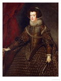 Isabella, Queen of Spain, 1602-1644 Giclee Print by Diego Velázquez