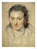 Isabella Brant, Rubens' First Wife, 1621 Giclee Print by Peter Paul Rubens