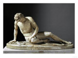 Dying Gaul, Roman Marble Copy of a Hellenistic Original of 230-220 BCE Giclee Print