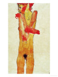 Nude Girl with Folded Arms, 1910 Giclee-vedos tekijn Egon Schiele