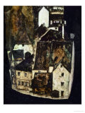 Dead City III (City on the Blue River III), 1911 Giclee Print by Egon Schiele