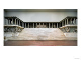 Overall View of the Zeus Altar, Erected circa 180 BCE, at Pergamon, Hellenistic Giclee Print