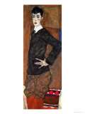 Portrait Erich Lederer, 1912 Giclee Print by Egon Schiele