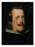 King Philip IV of Spain (1605-1665) Giclee Print by Diego Velázquez