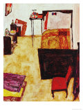 The Artist's Room in Neulengbach (My Living Room), 1911 Giclee Print by Egon Schiele