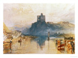 Norham Castle, on the River Tweed, Circa 1822-3, Watercolour on Paper Reproduction procédé giclée par William Turner