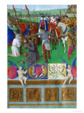 Les Heures D'Etienne Chavalier: Martyrdom of Saint James the Elder Giclee Print by Jean Fouquet
