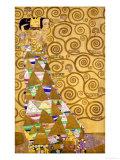 Gustav Klimt - Expectation, Stoclet Frieze, c.1909 Digitálně vytištěná reprodukce