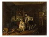 Marriage A-La-Mode: The Bagnio 1743 Giclee Print by William Hogarth