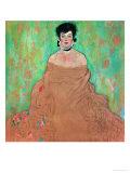 Amalie Zuckerkandl, 1917/18 Giclee Print by Gustav Klimt
