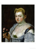Portrait of an Unknown Lady Giclee Print by Jacopo Robusti Tintoretto