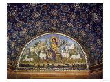 The Good Shepherd, Early Christian Mosaic, 5th CE Giclee Print