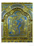 The Adoration of the Magi, Enamel, Verdun Altar, Begun 1181 Reproduction procédé giclée par Nicholas of Verdun