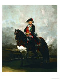 Charles IV on Horseback Giclee Print by Francisco de Goya