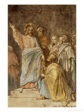 Christ Handing the Keys to Saint Peter, Dated 1815 Giclee Print by Jean-Auguste-Dominique Ingres
