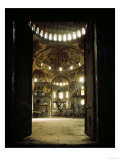 Hagia Sophia, Church and Mosque, Now Museum Giclée-Druck
