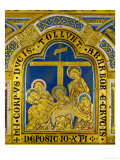 Deposition, Enamel, Verdun Altar, Begun 1181 Reproduction procédé giclée par Nicholas of Verdun