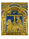Deposition, Enamel, Verdun Altar, Begun 1181 Giclee Print by  Nicholas of Verdun