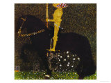 Life is a Struggle or the Golden Knight Reproduction procédé giclée par Gustav Klimt