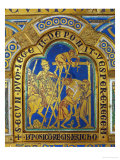 Descent from the Cross, Enamel, Verdun Altar, Begun 1181 Reproduction procédé giclée par Nicholas of Verdun