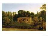 Country House for the Gabain-Family, Charlottenburg, 1822 Giclee Print by Karl Friedrich Schinkel