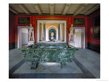 Interior of the Roman Baths in the Gardens of Sanssouci Giclee Print by Karl Friedrich Schinkel