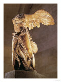 The Nike of Samothrace, Goddess of Victory Giclee-vedos