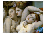 The Turkish Bath, Detail Giclee Print by Jean-Auguste-Dominique Ingres