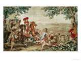 (After Le Brun) Entry of Louis XIV into Dunkerque, 1662 Giclee Print by Charles Le Brun
