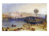 View of the Castle at Saint Germain-En-Laye Giclee Print by William Turner