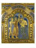 Baptism of Christ, from the Verdun Altarpiece Reproduction procédé giclée par Nicholas of Verdun