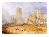 Ely Cathedral Giclee Print by William Turner