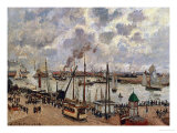 Port Du Havre, 1903 Giclee Print by Camille Pissarro
